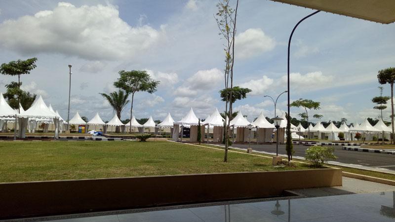 Pemasangan Sewa Tenda di Event Bazar Kabupaten Blitar