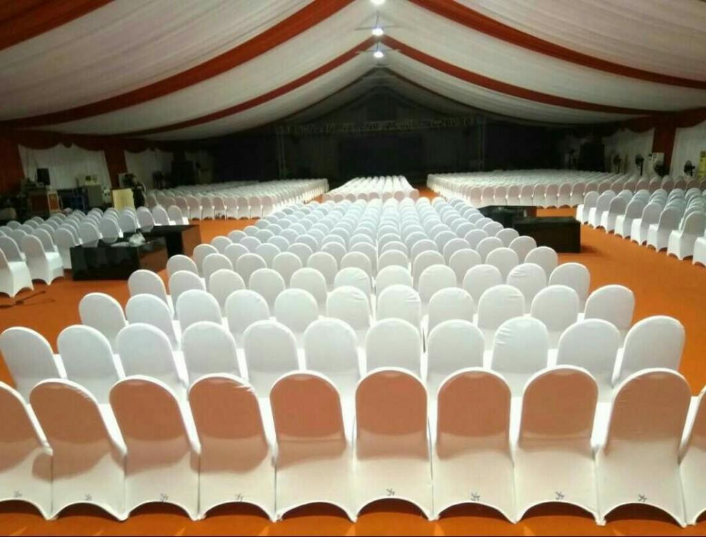 Pemasangan Tenda Roder dan Dekorasi Kegiatan JIIPE Gersik