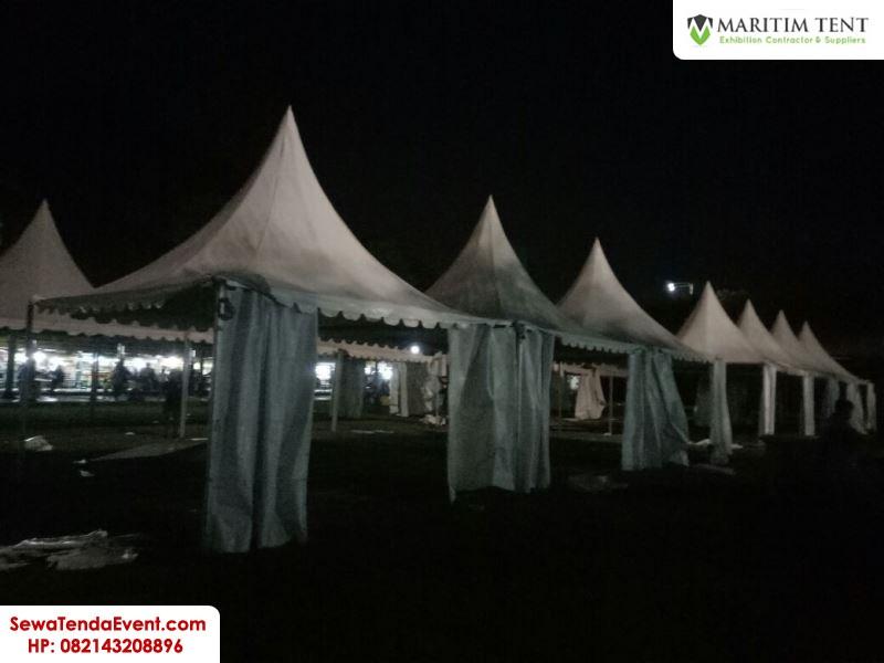 pemasangan tenda roder dan sarnafil event Magelang Fair (1)