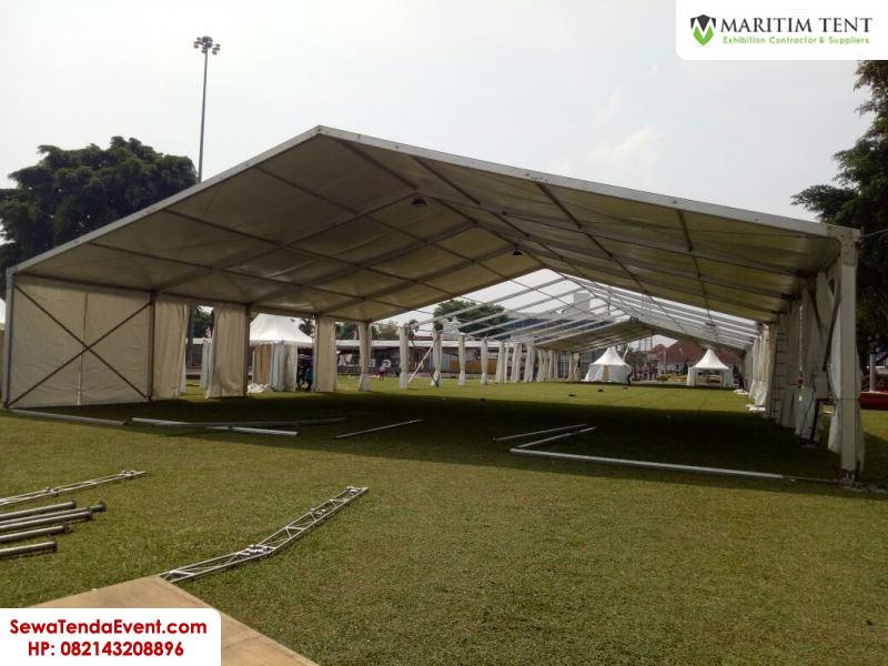 pemasangan tenda roder dan sarnafil event Magelang Fair (10)