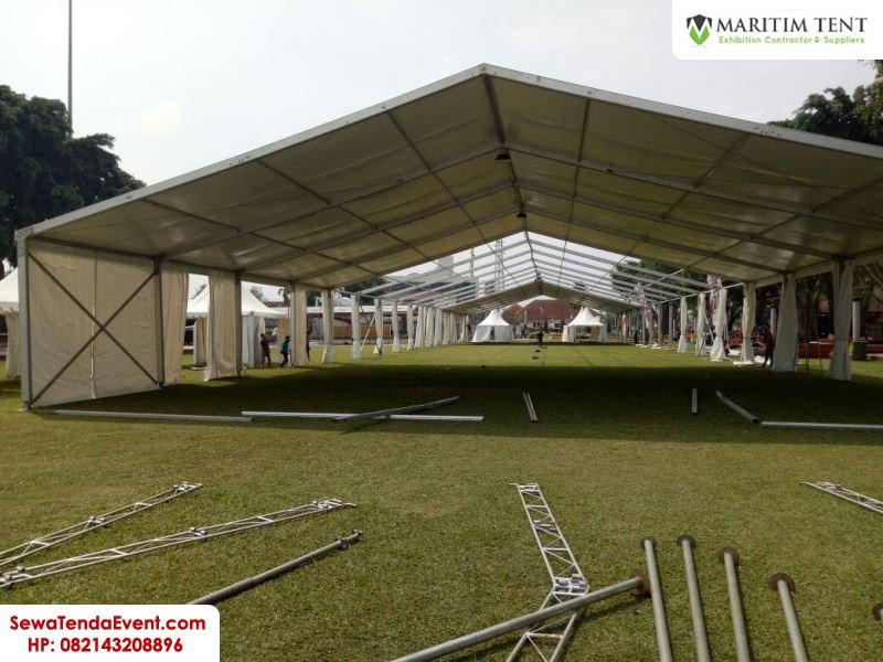 Pemasangan Tenda Roder dan Sarnafil Event di Magelang Fair