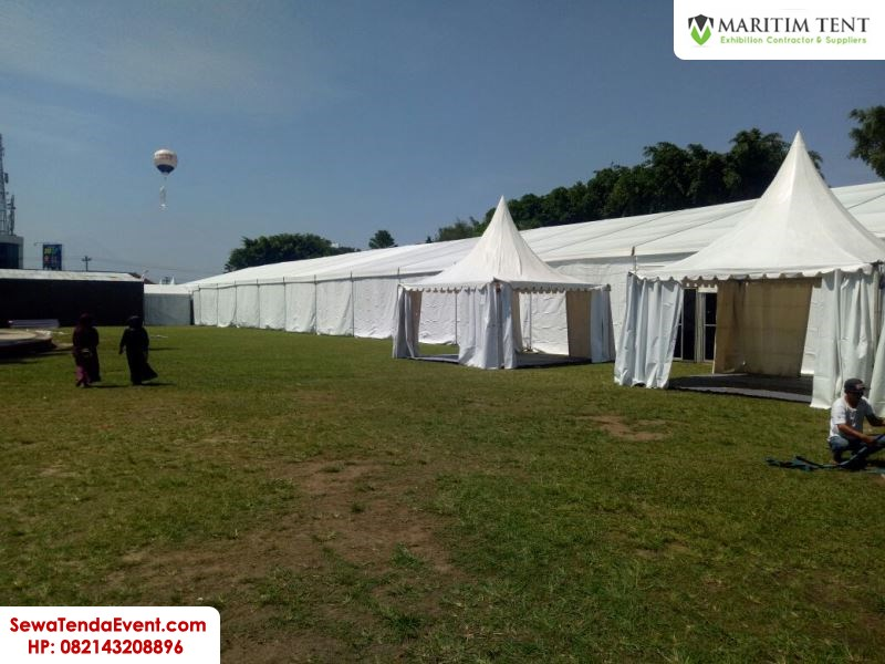 pemasangan tenda roder dan sarnafil event Magelang Fair (15)