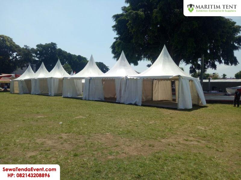 pemasangan tenda roder dan sarnafil event Magelang Fair (16)