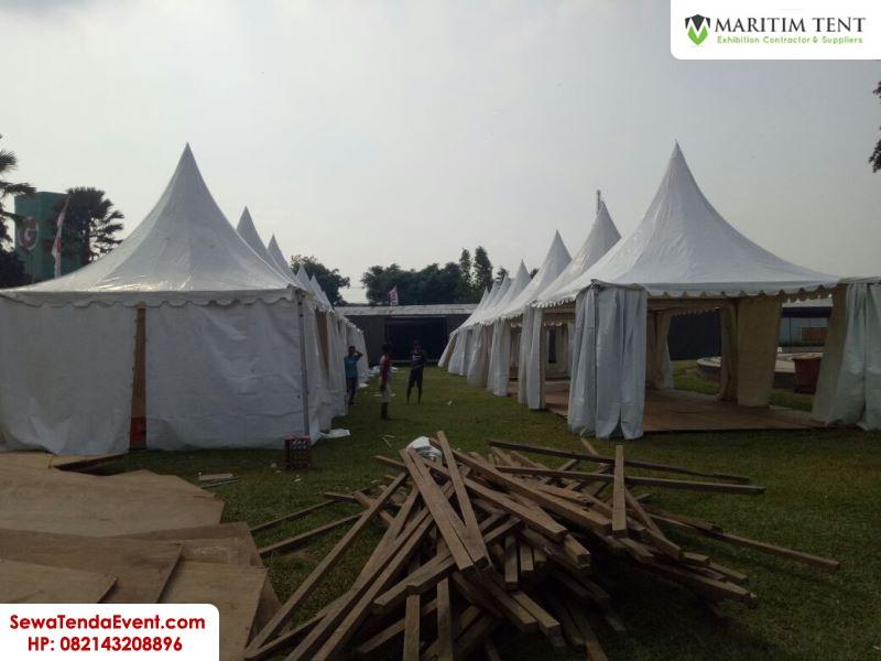 pemasangan tenda roder dan sarnafil event Magelang Fair (7)