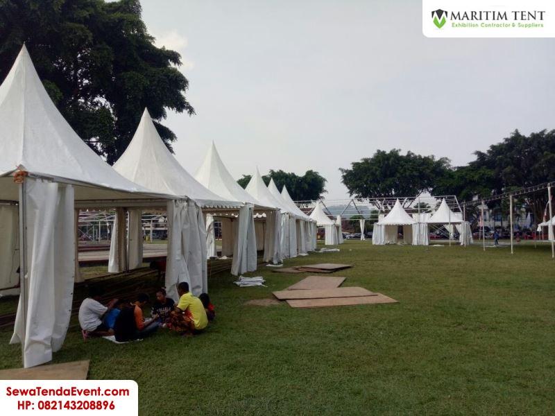 pemasangan tenda roder dan sarnafil event Magelang Fair (9)