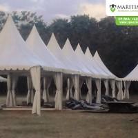 Pemasangan tenda sarnafil event Hut bondowoso 13-18 juli 2018 (2)