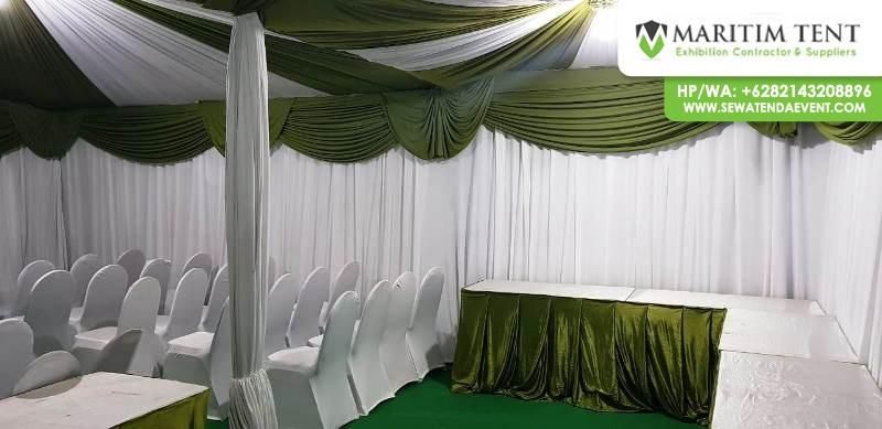 Sewa Tenda Sarnafil Event VIP Perusahaan