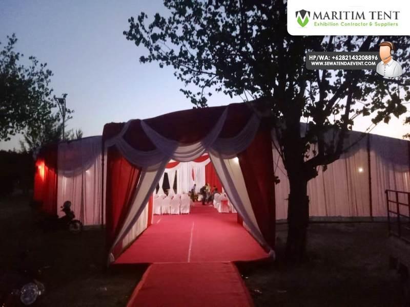 Sewa Tenda Dekorasi VIP Kunjungan Menteri Kelautan