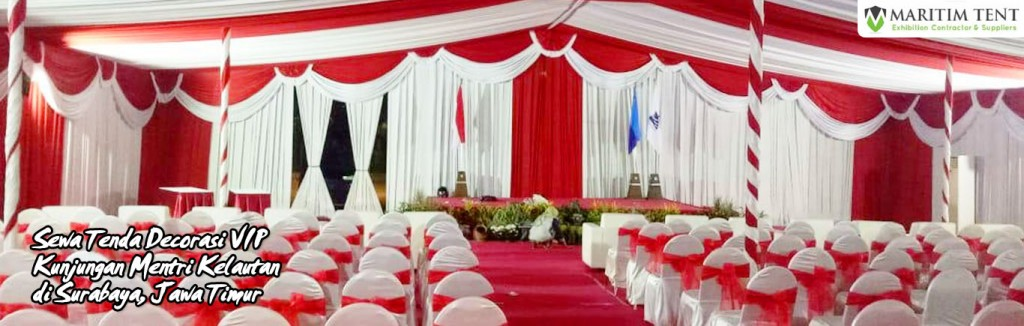 sewa tenda decorasi vip surabaya