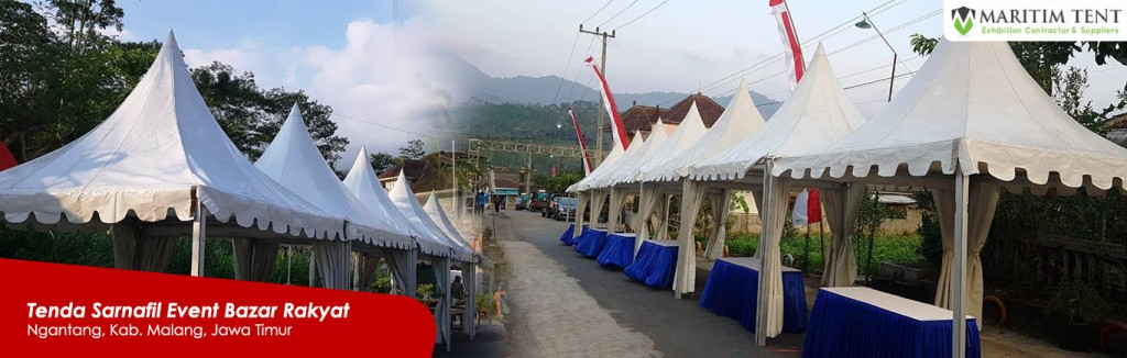 Jasa Sewa Tenda Sarnafil Event Bazar Rakyat