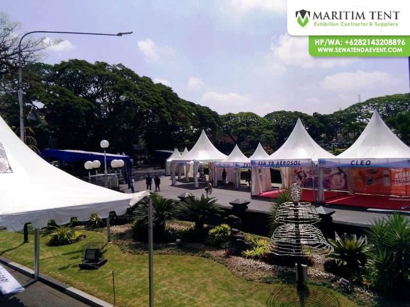 Jasa Sewa Tenda Sarnafil Malang Marathon 2018