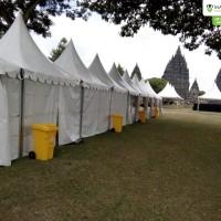 Tenda sarnafil suport event Prambanan Jazz festival (2)
