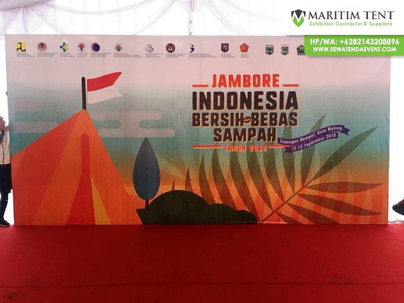 Tenda dan Dekorasi Event Jambore Nasional 2018