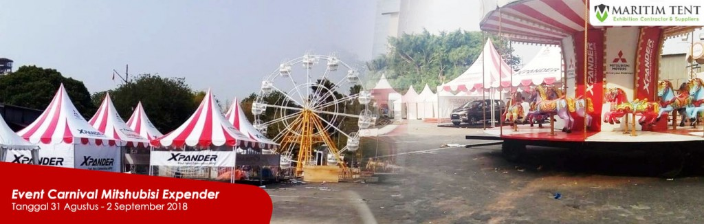Sewa Tenda Sarnafil Floring Event Carnival Mitshubisi Expender