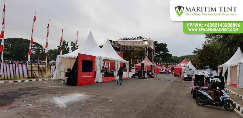 Sewa Tenda Bazar Event Teh Pucuk Coolinary