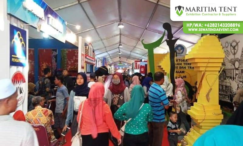 Tenda Pameran Festival Kraton Sumenep 2018