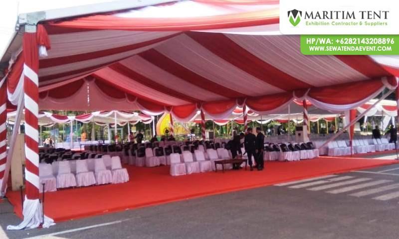 Tenda Roder VIP Festival Kraton se-Asean