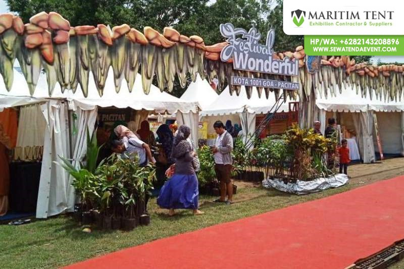 Sewa Tenda Event Festival Wonderful di Pacitan