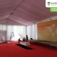Sewa Tenda Roder VIP Event DHL Express di Semarang