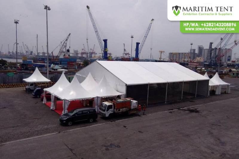 Sewa Tenda Sarnafil Event di Surabaya 2019