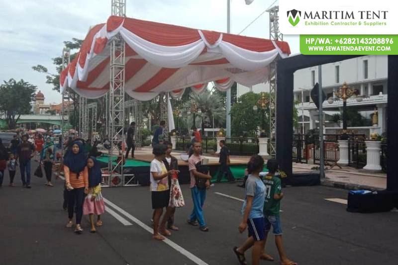 Jasa Pemasangan Tenda di Pemprov Jawa Timur