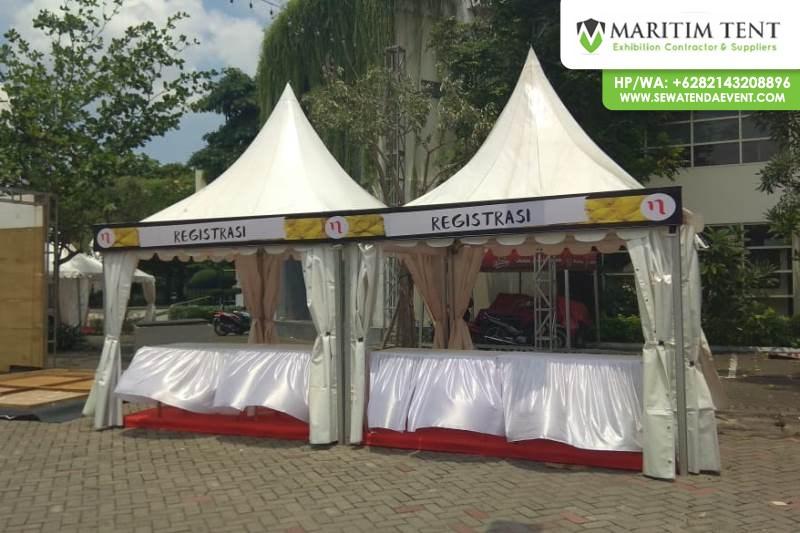 Pemasangan Tenda Sarnafil di Kampus Airlangga Surabaya (17)