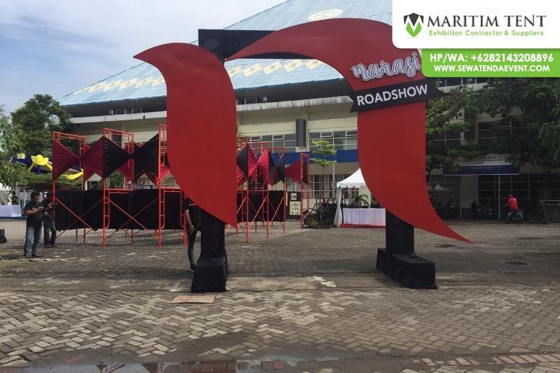 Pemasangan Tenda Sarnafil di Kampus Airlangga Surabaya (20)