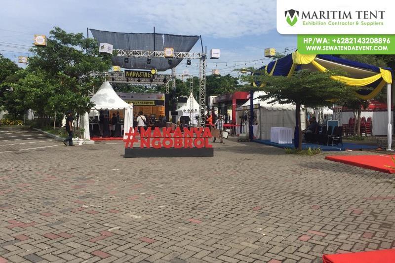 Pemasangan Tenda Sarnafil di Kampus Airlangga Surabaya (21)