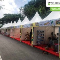 Tenda Sarnafil Event Millennial Road Safety Festival di Madiun