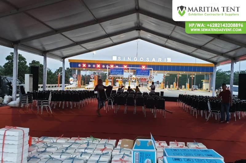 Sewa Tenda Event Peresmian Toll Malang - Pandaan