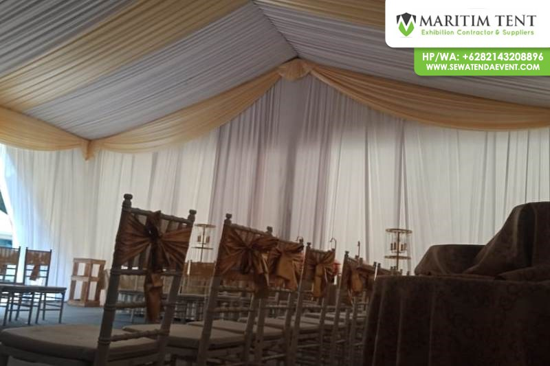 Jasa Sewa Tenda Dekorasi Event OJK Jogjakarta