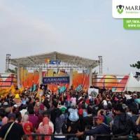Karnaval SCTV di Alun-Alun Kanigoro Blitar