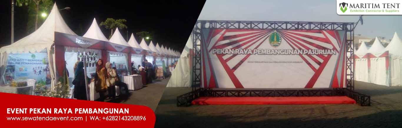 Sewa Tenda Event HUT Telkom Surabaya