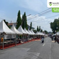 Sewa Tenda Sarnafil Support Event HUT Kab. Blora Jawa Tengah