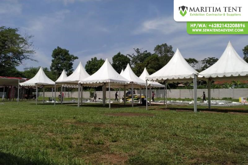 Sewa Tenda dan Partisi Stand R8 di Malang Jawa Timur