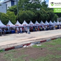 Sewa Tenda Sarnafil Support Event BRI di Jember