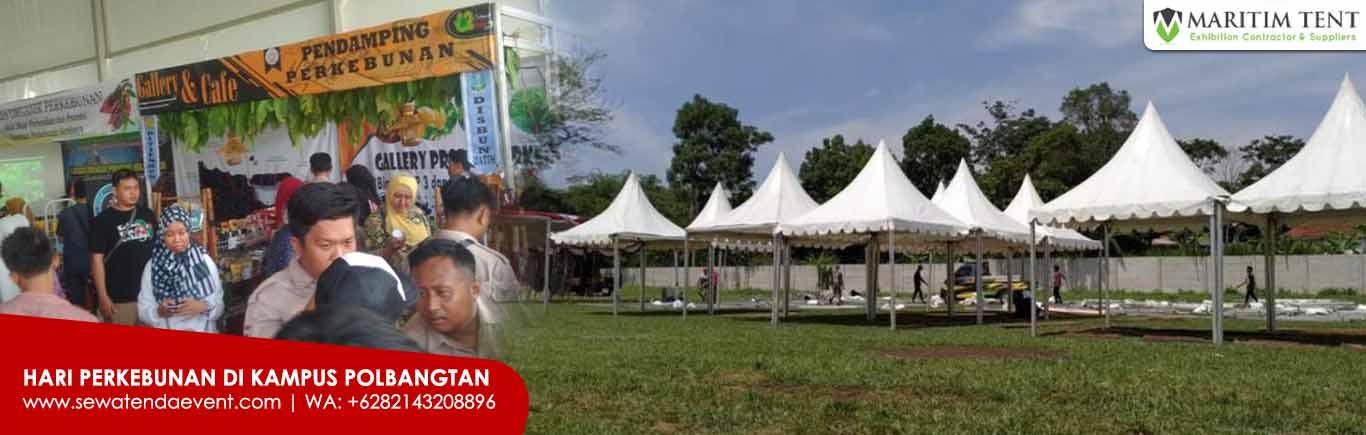 Tenda Sarnafil Support Event Pembangunan di Pasuruan